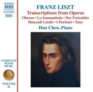 Liszt: Complete Piano Music Volume 41