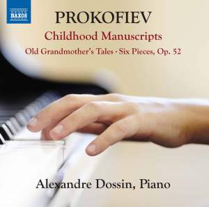 Prokofiev: Childhood Manuscripts Product Image