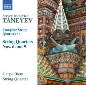 Taneyev: Complete String Quartets Volume 4