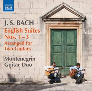 JS Bach: English Suites Nos. 1-3