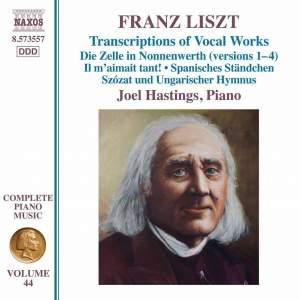 Liszt: Complete Piano Music Volume 44