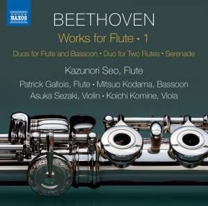 Beethoven: Works for Flute, Vol. 1