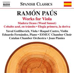 Ramon Paus: Works for Viola