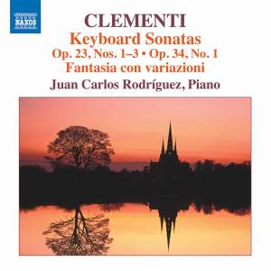 Clementi: Keyboard Sonatas Op. 23, Nos. 1-3 & Op. 24 No. 1