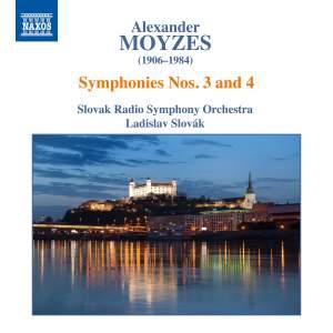 Alexander Moyzes: Symphonies Nos. 3 & 4