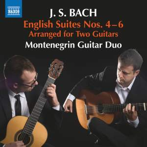 JS Bach: English Suites Nos. 4-6