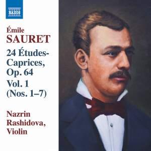 Sauret: 24 Études-Caprices, Op. 64, Vol. 1
