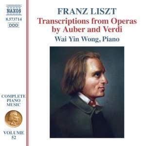 Liszt: Complete Piano Music Vol. 52