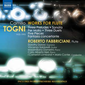 Camillo Togni: Works for Flute