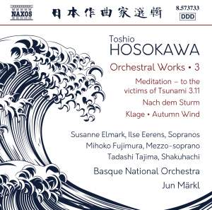 Hosokawa: Orchestral Works, Vol. 3 Product Image