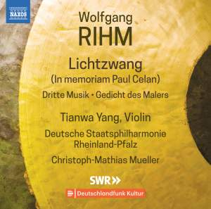 Wolfgang Rihm: Music for Violin and Orchestra Vol.1 Product Image