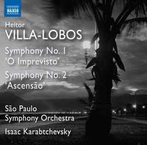 Villa-Lobos: Symphonies Nos. 1 & 2 Product Image