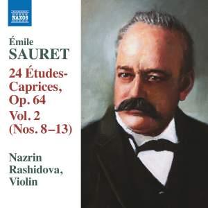 Sauret: 24 Études-Caprices, Op. 64, Vol. 2