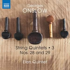 Onslow: String Quintets, Vol. 3