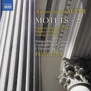Mayr: Motets, Vol. 2