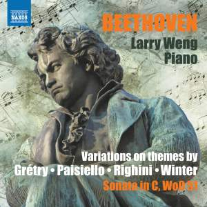 Beethoven: Variations on themes by Grétry, Paisiello, Righini and Winter