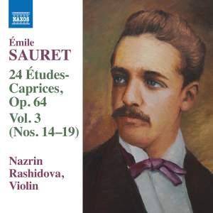 Sauret: 24 Études Caprices Volume 3