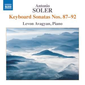 Antonio Soler: Keyboard Sonatas Nos. 87-92