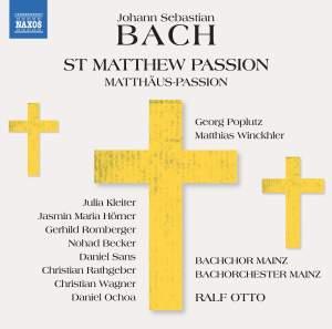 JS Bach: St Matthew Passion Product Image