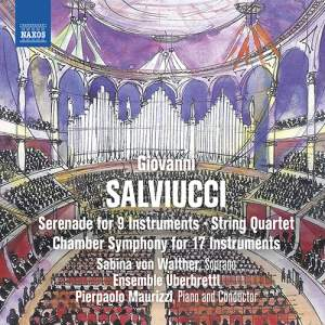 Giovanni Salviucci: Chamber Symphony for 17 Instruments
