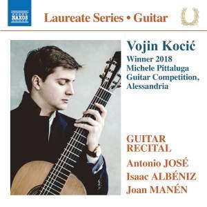 Vojin Kocić - Winner 2018 Michele Pittaluga Guitar Competition