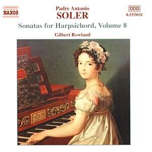 Soler - Sonatas for Harpsichord Volume 8