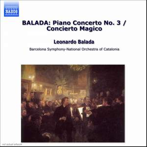 Balada: Piano Concerto No. 3, etc. Product Image