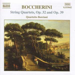 Boccherini: String Quartet in A major, Op. 39, etc.