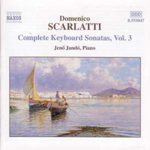Scarlatti - Complete Keyboard Sonatas Volume 3 Product Image