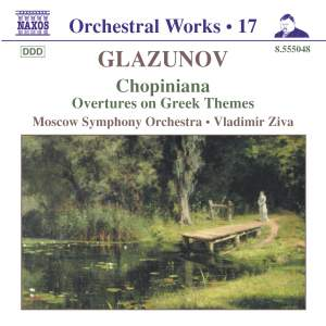 Glazunov - Orchestral Works Volume 17