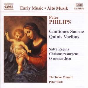 Peter Philips - Cantiones Sacrae, Quinis Vocibus