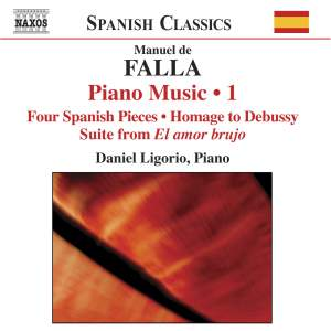 Falla: Piano Music, Volume 1