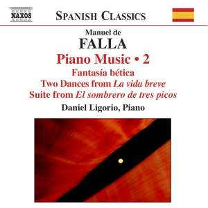 Falla: Piano Music, Volume 2