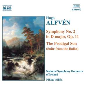 Alfvén: The Prodigal Son & Symphony No. 2 Product Image