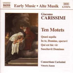 Giacomo Carissimi: 10 Motets