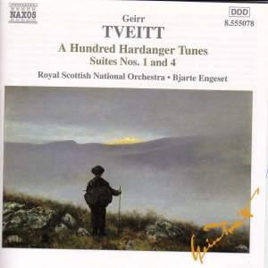 Tveitt: 100 Hardanger Tunes: Suites Nos. 1 & 4 Product Image