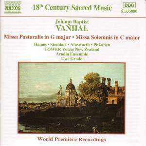 Vanhal: Missa Pastoralis & Missa Solemnis