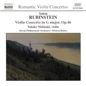 Rubinstein: Violin Concerto Product Image