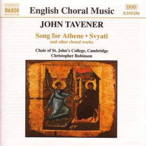 Tavener: Song for Athene, Svyati & other choral music
