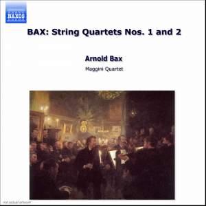 Bax: String Quartets Nos. 1 & 2 Product Image