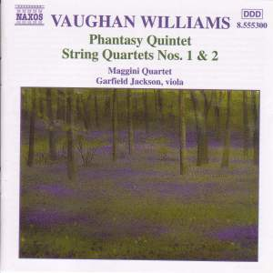Vaughan Williams: Phantasy Quintet, etc.