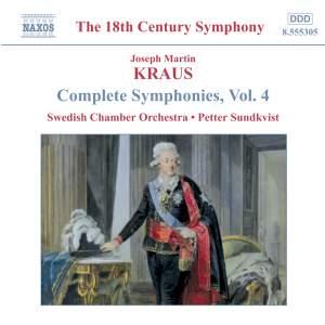 Kraus: Symphonies, Vol. 4