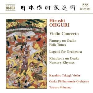 Ohguri: Violin Concerto, etc. Product Image