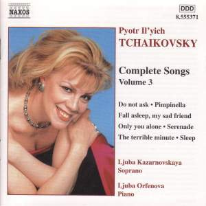 Tchaikovsky - Complete Songs Volume 3
