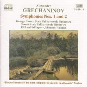 Grechaninov: Symphonies Nos. 1 & 2 Product Image