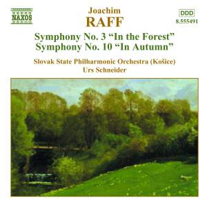 Raff: Symphonies Nos. 3 & 10 Product Image