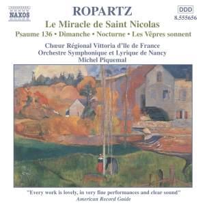 Ropartz: Le Miracle de Saint Nicolas