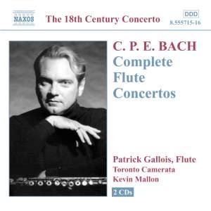 C P E Bach - Complete Flute Concertos Product Image