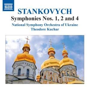 Stankovych: Symphonies Nos. 1, 2 & 4