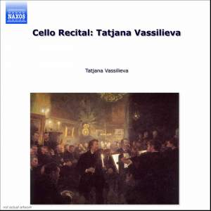 Cello Recital: Tatjana Vassilieva